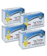 Ner Mitzvah Round Floating Wicks – 200 Count Approx., Large Cotton Wicks... - $13.69