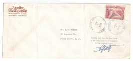 Belgian Congo Gatti 10th Expedition Mission CDS 1939 Base Camp Cover Signed - $37.00