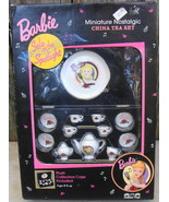 Barbie Solo in the Spotlight Mini China Tea Set Collector's Case Vintage - $28.00