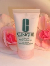 New Clinique Rinse Off Foaming Face Cleanser Travel Sample Size Tube 1 o... - $7.19
