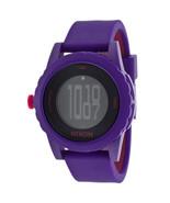 """NEW Nixon Unisex A326200 Purple """"Genie"""" Watch - $50.48"""
