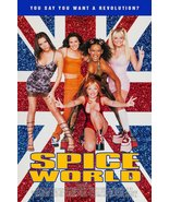 """Spice Girls """"SPICE WORLD"""" 24 x 36 Reprint Movie Poster - Celebrity Colle... - $45.00"""