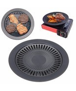 2-layer BBQ Grill Tray Barbecue Food Grilling Non Stick Camping Rack Out... - $512,63 MXN