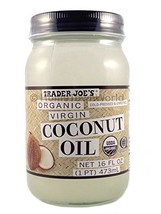 NEW Trader Joes(16 fl oz) Coconut Certified Organic Extra Virgin Coconut... - $13.23