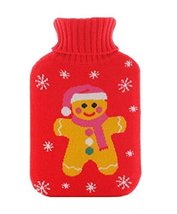 Hand Warmer Washable Knitted Cover Safe Hot Water Bottle/Bag -Love Heart 2L - $24.29