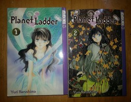 Manga Planet Ladder books Yuri Harushima Tokyopop Fantasy drama Vol 1 & ... - $8.60