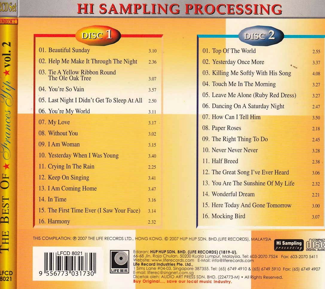 Frances Yip - Greatest Hits