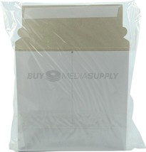White 6 x 6.5 Self Seal Cardboard Mailer - 200 Pack - $30.96