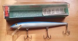 Plastic Rapala Floating Wobbler Fishing Lure New Blue - $31.09