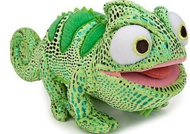 "Disney Green Pascal Tangled 8"" Stuffed Plush so... - $17.99"