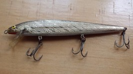 Rapala Floating,Sinking Fishing Lure Plastic Black Gold Diamond Cut - $12.86