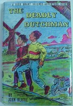 Rick Brant Deadly Dutchman #22 John Blaine hcdj Science Adventure htf li... - $160.00