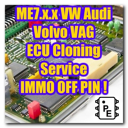VAG ME7 x x ECU ECM Engine Computer Cloning and 49 similar items