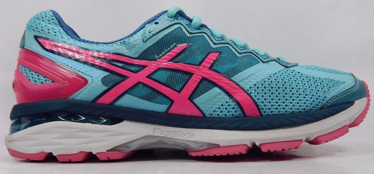 Asics GT 2000 v 4 Women's Running Shoe Size US 10 M (B) EU 42 Blue Pink T656N