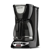 12-Cup Programmable Black Coffeemaker Automatic... - $107.70