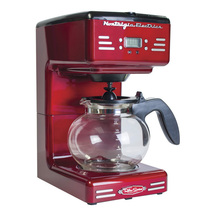 12-Cup Automatic Red Coffeemaker Automatic Drip... - $133.34