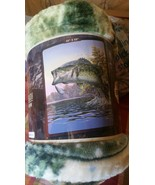 Large Mouth Trout American Heritage Woodland Ro... - $24.75