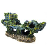 Penn-Plax Sunken Ship Aquarium Decor Large - $24.79