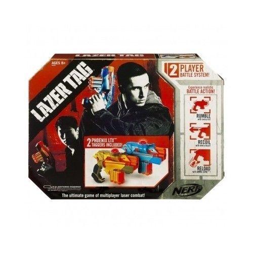 2pk Nerf Lazer Tag Laser Gun Blaster Set Tagger Game Team Set Lights Sounds New