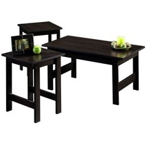 Beginnings 3 Pack Living Room Furniture Table Set Cherry  - $87.95