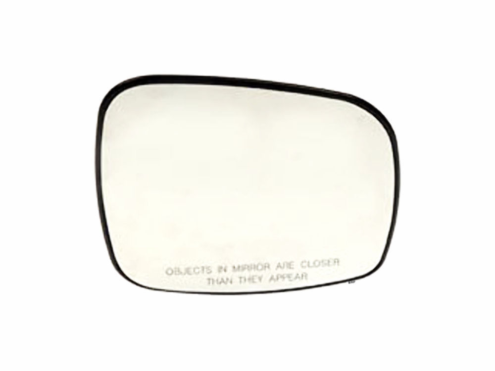 Fits 08-15 Caravan, Town & Country Right Pass Mirror Glass Heat w/ Back Plate OE - $55.95