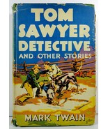 Tom Sawyer Detective and Other Stories by Mark Twain HC/DJ - $4.99