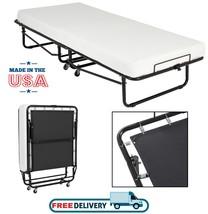 Folding Guest Bed Memory Foam Mattress Easy Storage Portable Travel Roll... - $197.95