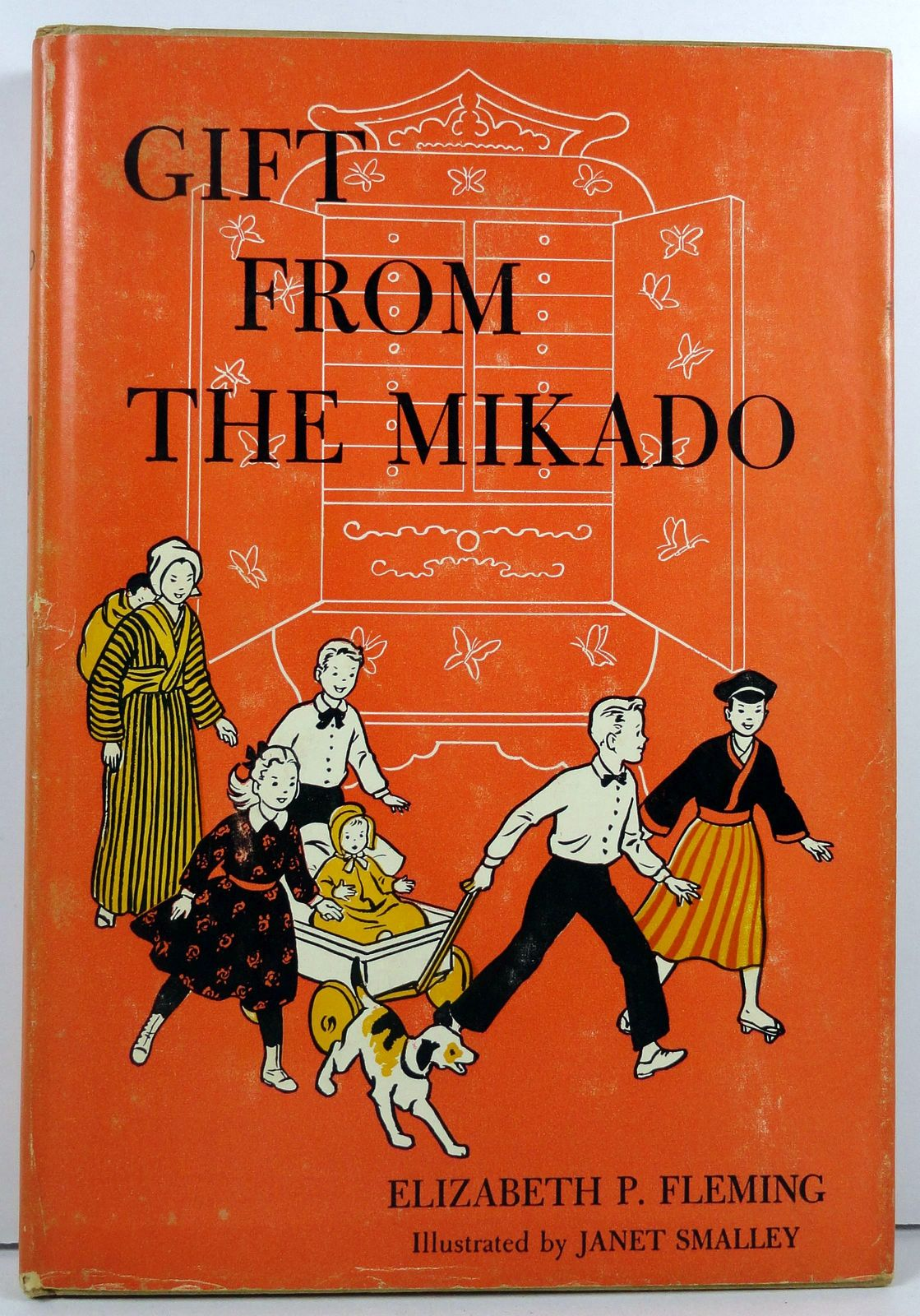 Gift From The Mikado by Elizabeth P. Fleming 1958 HC/DJ