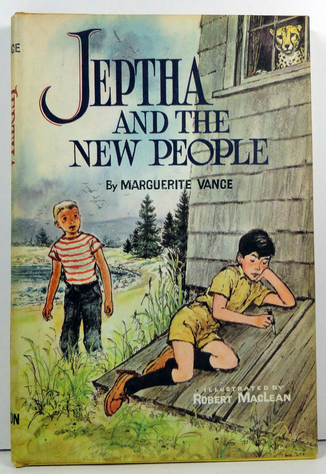Primary image for Jeptha and the New People by Marguerite Vance 1960 HC/DJ