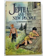 Jeptha and the New People by Marguerite Vance 1960 HC/DJ - $3.99
