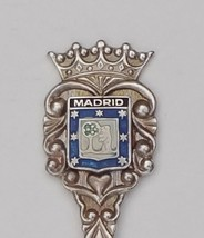 Collector souvenir spoon spain madrid coat of arms ladle bowl  1  thumb200