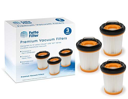 Fette Filter - Fabric Vacuum Filter Compatible with Shark ION W1 Cordless Handhe
