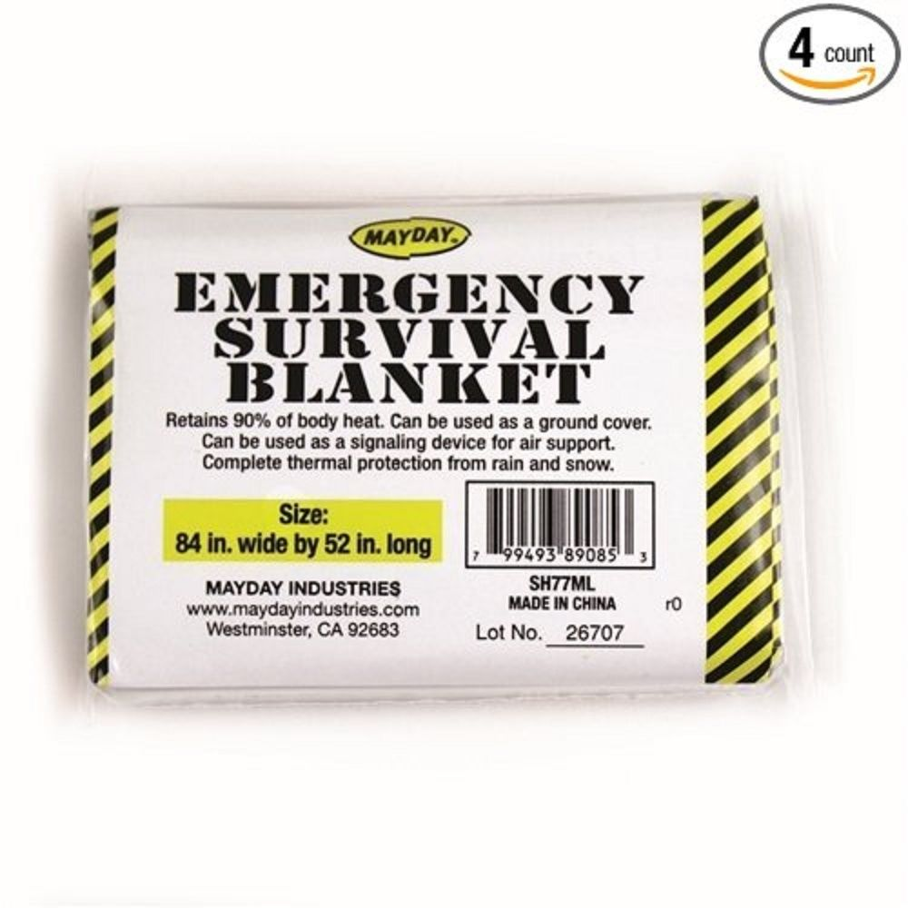 Mayday Emergency Survival Blanket- 1 item