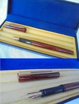 WATERMAN PRO GRADUATE fountain pen lacque in brown color Original in gif... - $45.00