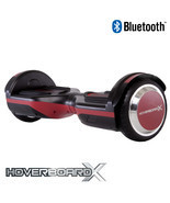 "HoverboardX HBX-SL Red ""Scoolance"" Bluetooth Hoverboard - £206.79 GBP"