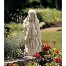 Sad Ghost Statue Halloween Props Medieval Gothic Decor Garden Sculpture ... - $46.95