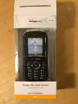 Original Verizon Lg Cosmos Snap On Gel Cover Black Nib - $4.00