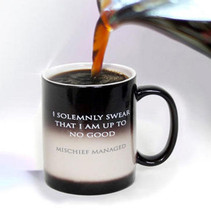 """Harry Potter """"I Solemnly Swear"""" Color Change Thermal Mug by NECA   RARE ... - $16.50"""