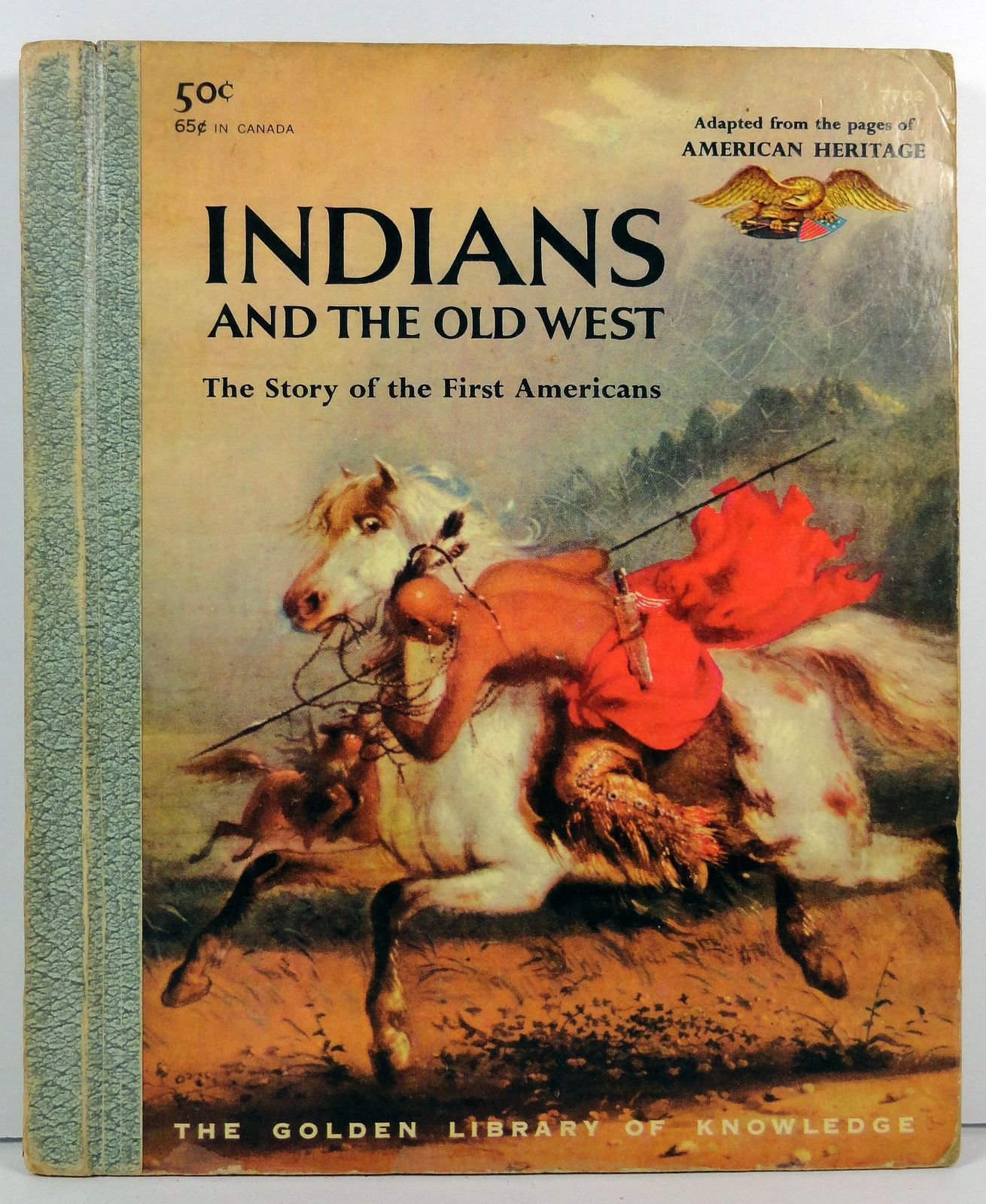 Indians and the Old West by Anne Terry White Golden Library