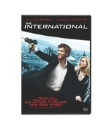 """""""THE INTERNATIONAL"""" Widescreen, Dolby, BONUS DVD w/Special features. NEW... - $5.93"""