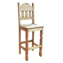 "26"" Solid Wood Bar Stool With Wood Seat - $222.75+"