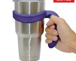 Handle for YETI Rambler Tumbler 30 oz Ozark Trail Cup Holder RTIC SIC NEW Purple