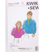 Kwik Sew Pattern Boys & Girls Jackets w/ Pockets #2107 Youth Sizes  8 10... - $7.66