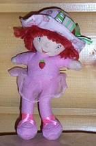 """Strawberry Shortcake Mini 7"""" Plush in Pink Ballet Outfit Pocket Pal Take... - $4.69"""
