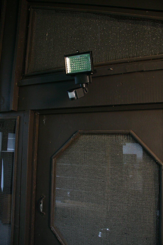 Led Solar Motion Light Outdoor Garage Driveway Home Deck