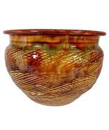 Hand Thrown Planter Pot Jardiniere Vase Dryden ... - $44.95