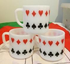 3 Poker or Bridge Federal Mugs - $12.00