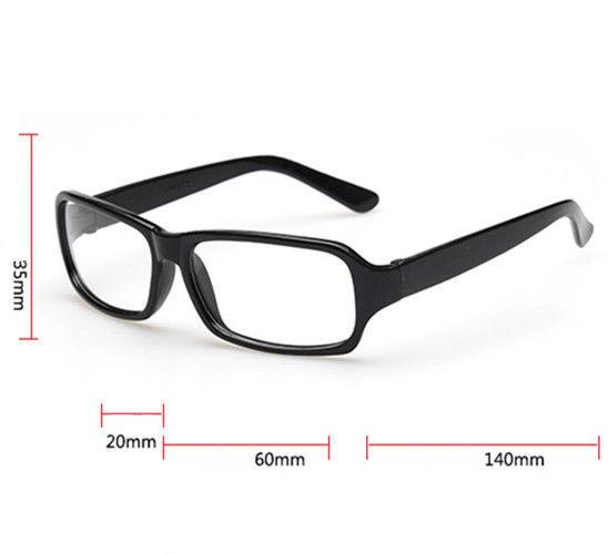Clear Lenses Glasses Classic Vintage Nerd Geek Frames Fashion Eyewear