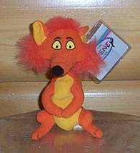 "Disney Mary Poppins Bright Orange Rescued Fox 6"" Plush Beans NWT - $10.95"