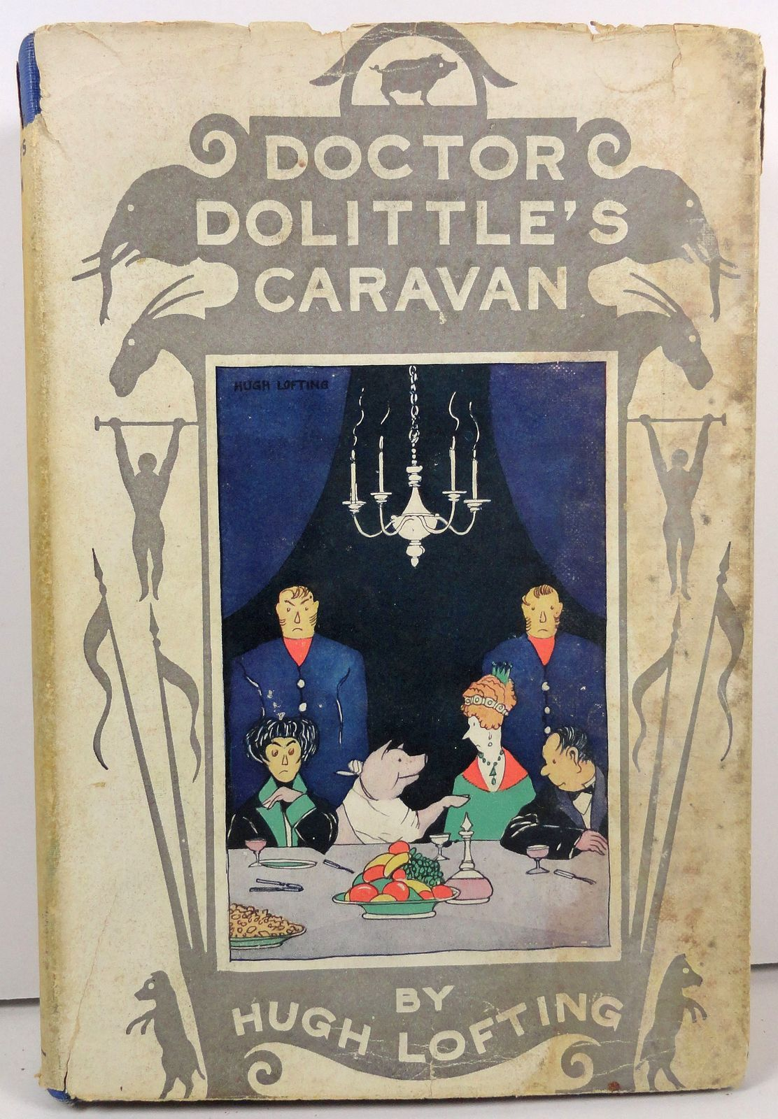 Primary image for Doctor Dolittle's Caravan by Hugh Lofting 1927 HC/DJ